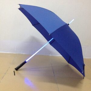 LED light straight umbrella for promotion technology gifts
