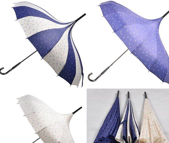 Printed Wedding Umbrella Bridal Umbrella