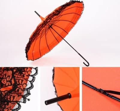 wedding umbrella hook handle