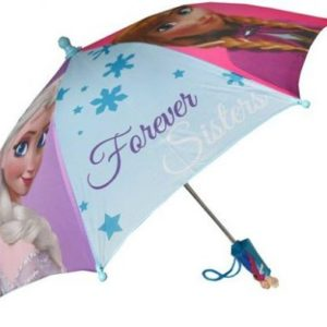 Disney Frozen Anna Elsa Forever Sisters Kids Umbrella