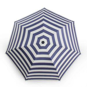 Stainless steel Umbrella Handle Petty with Stripe Umbrella