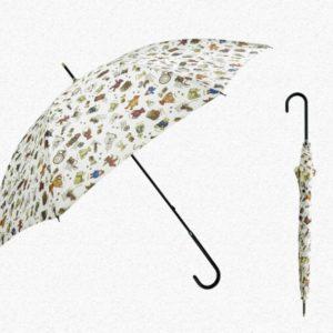 Colourful Animal Chic Printing Straight Umbrella