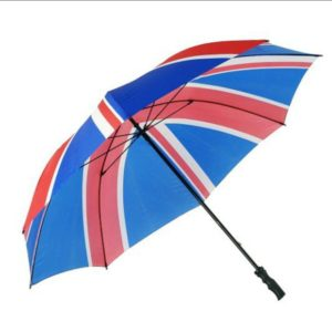 Flag England United Kingdom Golf Umbrella