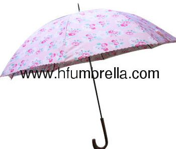 Umbrella colourfull printing straight umbrella