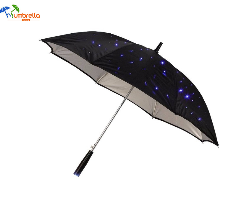 LED Light Rain Umbrella