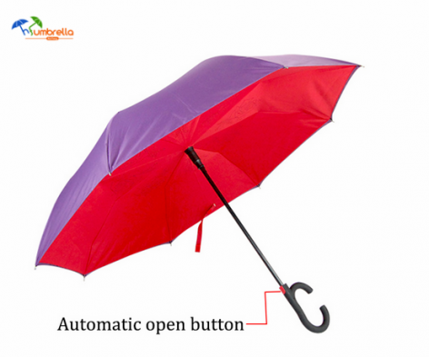 Latest Invention Double Layer Auto Open Inverted Umbrella