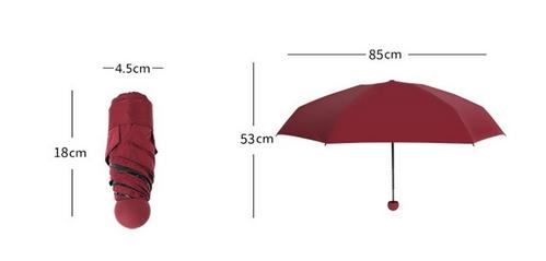 Capsule-Umbrella-Size