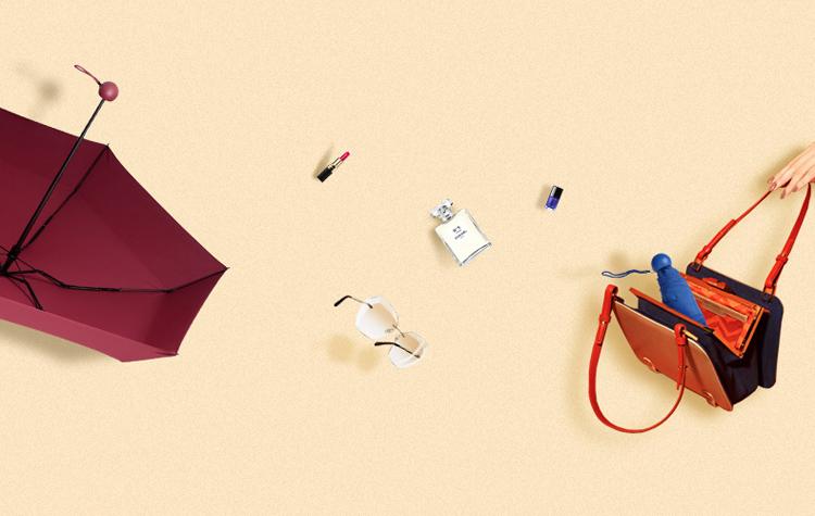 Capsule-umbrella