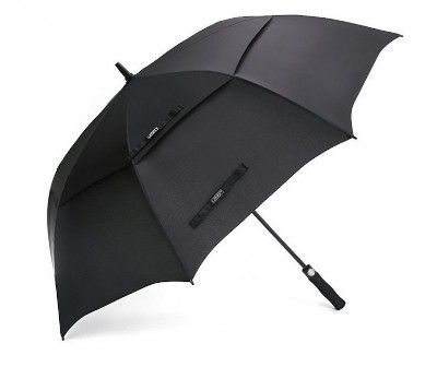 Double layer golf umbrella